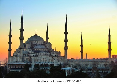 The Sultan Ahmed Mosque or Sultan Ahmet Mosque is a historic mosque located in Istanbul, Turkey