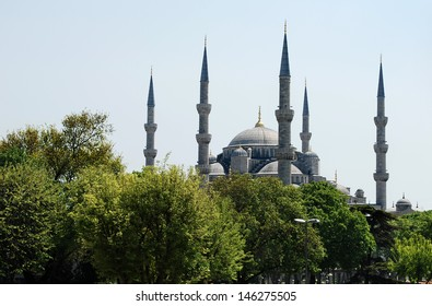Sultan Ahmed Mosque � Blue Mosque, Istanbul, Turkey