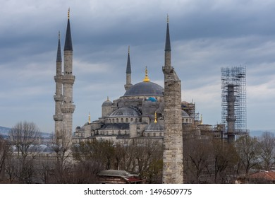 Sultan Ahmed Mosque or Blue Mosque-Istanbul,Turkey
