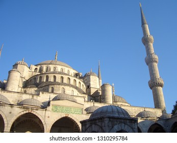 Sultan Ahmed Mosque, Istanbul, Turkey. September 2011