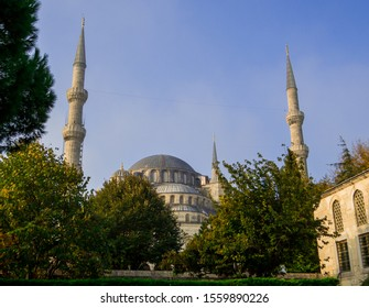 Sultan Ahmed Mosque (or The Blue Mosque) in Istanbul, Turkey