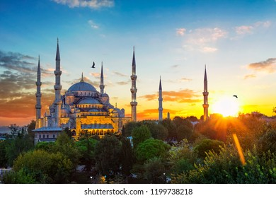 Sultan Ahmet Cami - The Blue Mosque, Istanbul