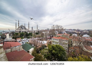 Sultan Ahmet Cami - The Blue Mosque, Istanbul, Turkey - March 2015
