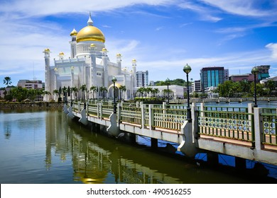Sultan Omar Ali Saifuddin Mosque in Brunei
