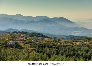 Sultan Plateau ( Turksih; Sultan Yaylası ) Manisa City, Turkey