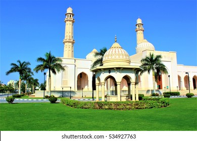 Sultan qaboos grand mosque at salalah oman