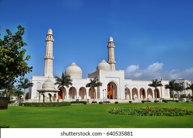 Sultan Qaboos grand mosque in Salalah, Oman