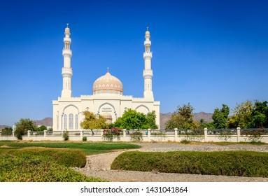 Sultan Qaboos Mosque in Rustaq, Oman