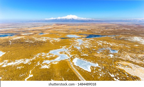 sultan reeds national park in Kayseri, Turkey
