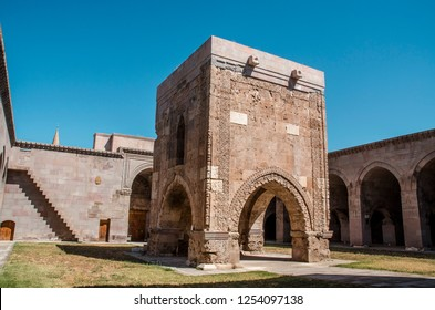 Sultanhani Caravanserai on the Kayseri-Sivas highway. It is within the village of the same name. It was built in 1236 at the time of Alaeddin Keykubat I, the Seljuk Sultan.