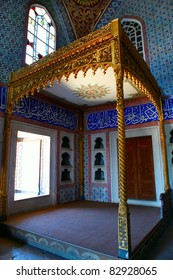 Sultan's room in the Topkapi Palace, Istanbul,Turkey
