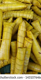 Suman a glutinous rice delicacy wrapped in banana leaves