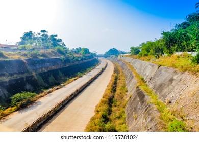 Sumedang, West Java / Indonesia - August 09th 2018: Cisumdawu Toll Road Under Construction (Bandung to Cirebon)