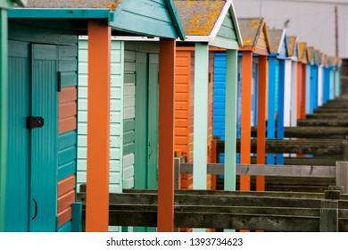 Sumer house's Whitstable coast UK