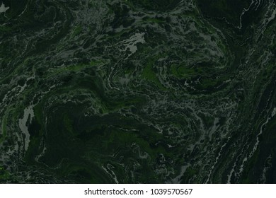 Suminagashi marble texture hand painted with black ink. Digital paper 1663. Emotional liquid abstract background.