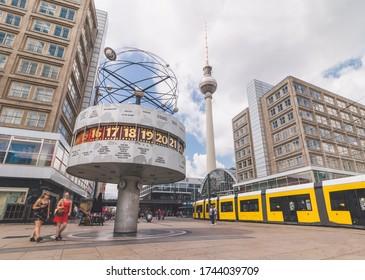 Summer at Alexanderplatz, Berlin, Germany