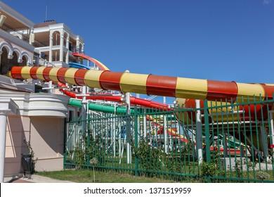 Summer Aquapark Sliders