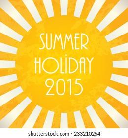 Summer background - 2015