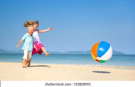 Summer Beach Family Fun.