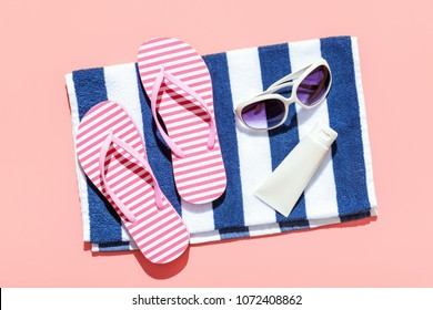 Summer beach holiday accesorries