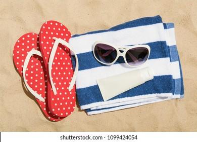 Summer beach holiday accesorries