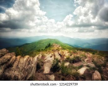 Summer in Bieszczady Mountains (Poland)