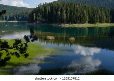 Summer Black Lake, Durmitor National Park, Zabljak, Montenegro