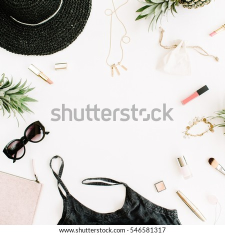 a3ba73ce5df Summer Casual Style Frame Modern Woman Stock Photo (Edit Now ...