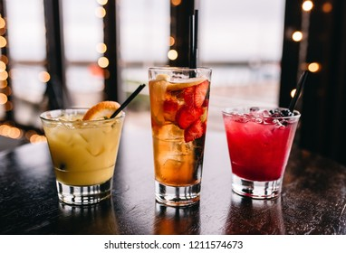 Summer Cocktails in the bar