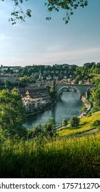 A summer day in Bern, Switzerland