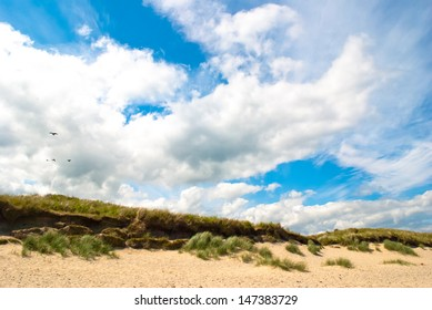 A summer day at Brittas Bay. Wicklow Ireland.