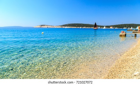 summer day at the sea in Croatia