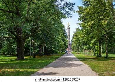 Summer day in Tiergarten, Berlin, Germany