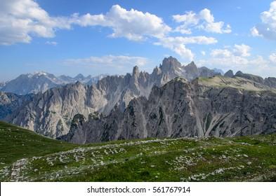 Summer Dolomites, Cadini