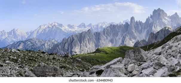 Summer Dolomites, Cadini, Italy