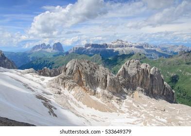 Summer Dolomites, Italy.