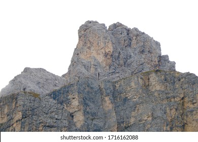 Summer dolomites mountains landscape. Italian alps. Out of focus.