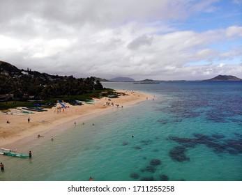 summer enjoy hawaii beach view