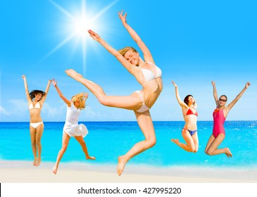 Summer Exercise On a Sunny Day
