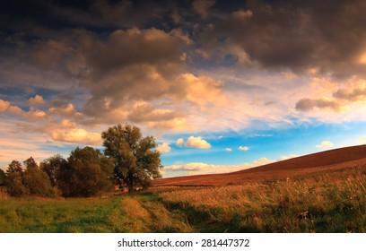 Summer Fields Warmia - Poland - Shutterstock ID 281447372