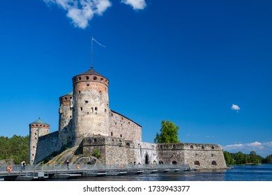 summer in Finland, Olavinlinna fortress