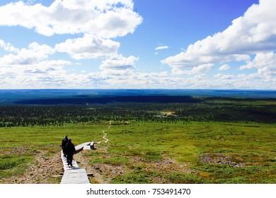 Summer in Finnish Lapland, Laanila