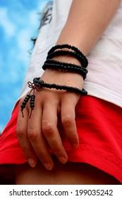 Summer freedom adventure mood asian bracelet