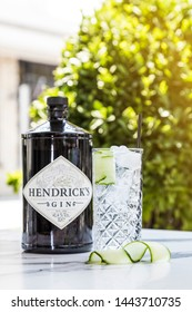 summer fresh cold Hendricks gin