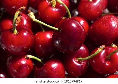 summer fruit, lots of cherries