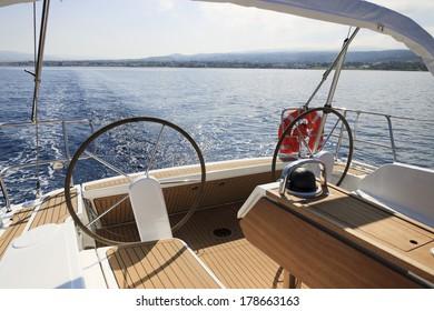 Summer fun on board