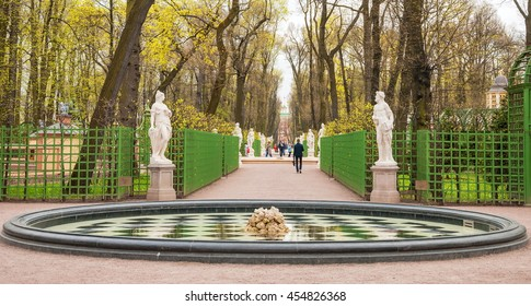 Summer Garden in St. Petersburg - one of symbols of city. It is work of art, work of genius and human hands. The main pride of Summer Garden were and are his sculptures. May 7, 2015