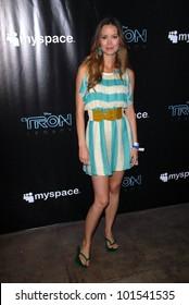 """Summer Glau at the TRON Legacy"""" & MySpace Comi-Tron Party, Flynn's Arcade, San Diego, CA 07-23-10"""
