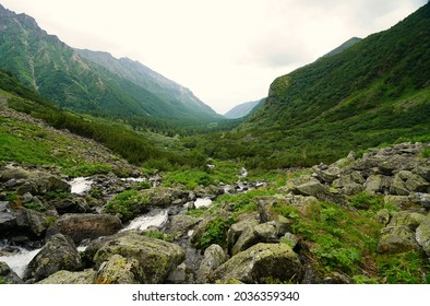 Summer hike and amazing landscape in the Barguzin valley - Shutterstock ID 2036359340