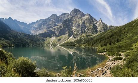 Summer hiking tour to morskie oko in Zakopane